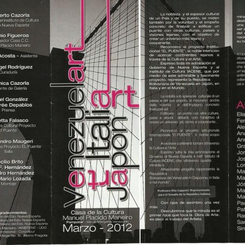 Recensioni della mostra in Venezuela
