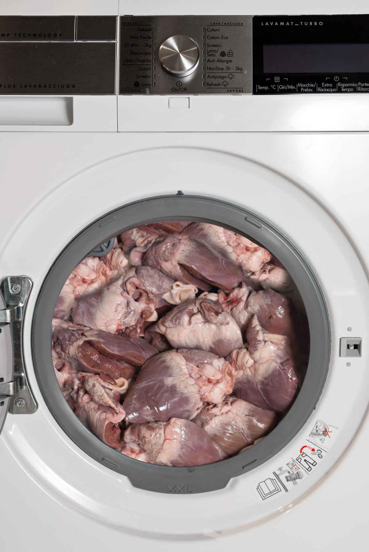 Cuori nella lavatrice